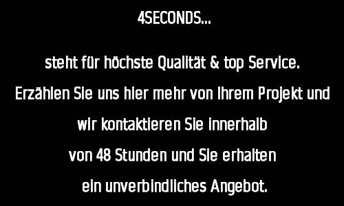 angebot anfrage webdesign 4seconds